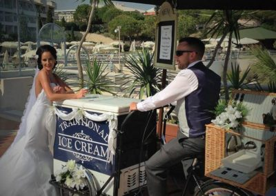 Algarve Ice Cream Bikes Sllider Image 12 - Algarve Weddings, Events and special Occasions