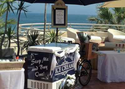 Algarve Ice Cream Bikes Sllider Image 2 - Algarve Weddings, Events and special Occasions