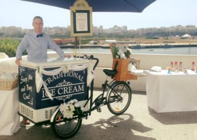 Algarve Ice Cream Bikes Sllider Image 4 - Algarve Weddings, Events and special Occasions