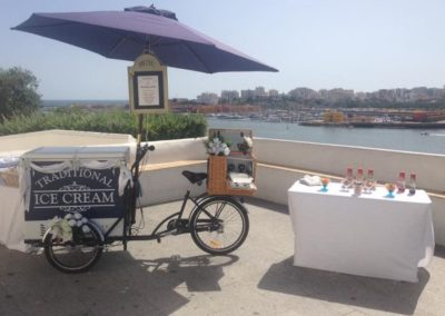 Algarve Ice Cream Bikes Sllider Image 5 - Algarve Weddings, Events and special Occasions