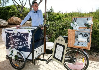 Algarve Ice Cream Bikes Sllider Image 6 - Algarve Weddings, Events and special Occasions
