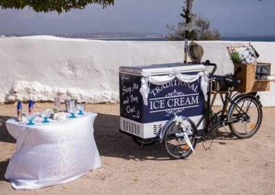 Algarve Ice Cream Bikes Sllider Image 9 - Algarve Weddings, Events and special Occasions
